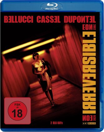 Irreversible (2002) (Straight Cut, Arthaus, Kinoversion, 2 Blu-rays)