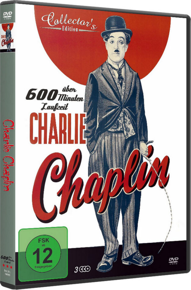 Charlie Chaplin - 125 Jahre (Collector's Edition, 3 DVDs)