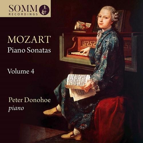 Wolfgang Amadeus Mozart (1756-1791) & Peter Donohoe - Piano Sonatas 4
