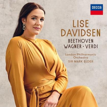 Ludwig van Beethoven (1770-1827), Richard Wagner (1813-1883), Giuseppe Verdi (1813-1901), Sir Mark Elder, Lise Davidsen, … - Beethoven/Wagner/Verdi