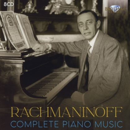 Sergej Rachmaninoff (1873-1943) - Complete Piano Music (8 CDs)