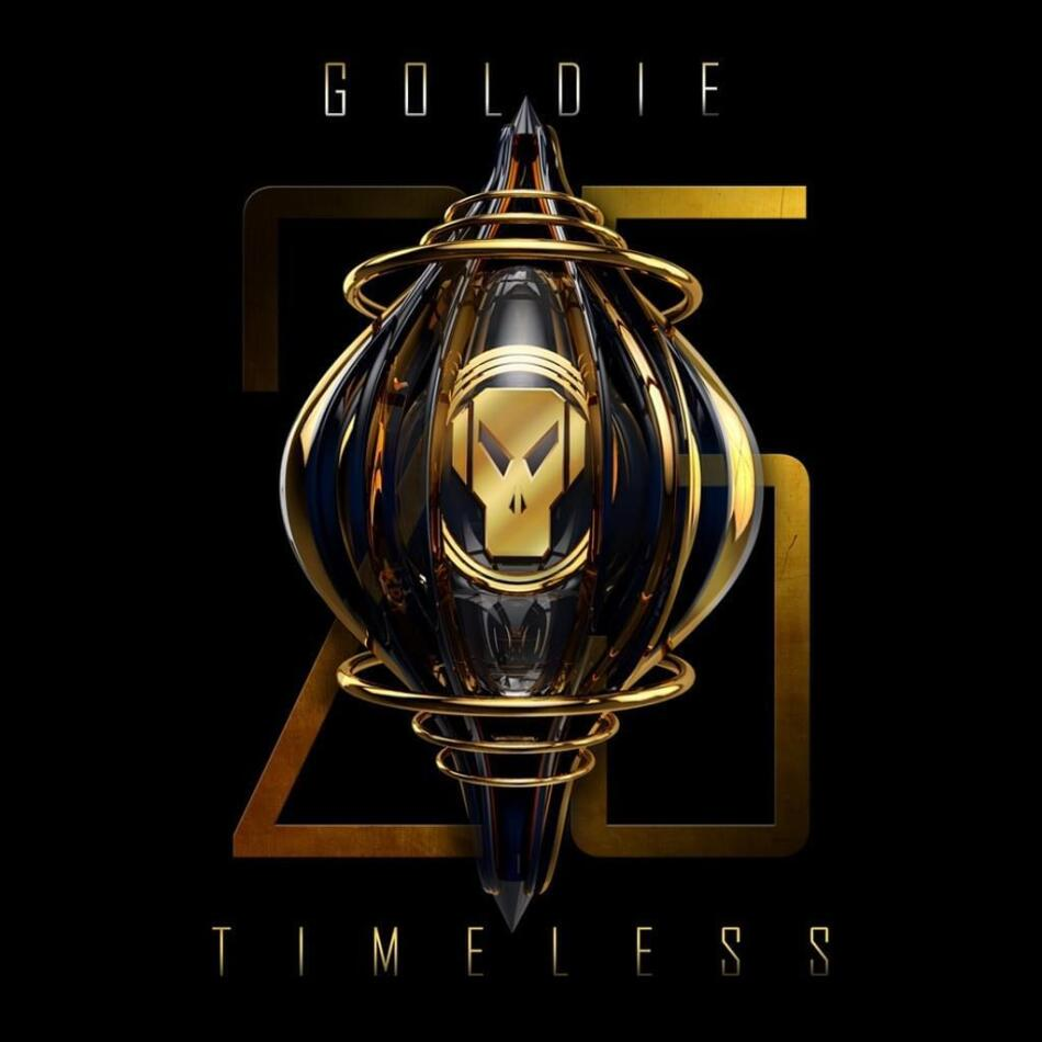 Goldie - Timeless (2021 Reissue, 25th Anniversary Edition, Gold Vinyl, 3 LPs)