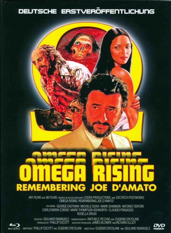 Omega Rising - Remembering Joe D'Amato (2017) (Limited Edition, Mediabook, Blu-ray + DVD)