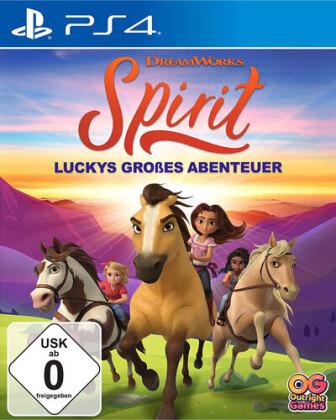 Spirit Luckys großes Abenteuer (German Edition)