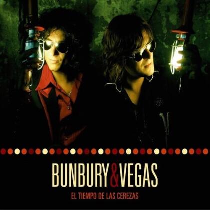 Bunbury (Enrique Bunbury Heroes Del Silencio) & Nacho Vegas - El Tiempo De Las Cerezas (Oversize Item Split, LP + CD)