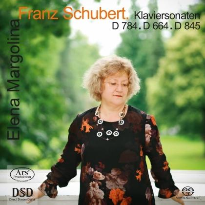 Franz Schubert (1797-1828) & Elena Margolina - Klaviersonaten D. 784, 664, 845 (Hybrid SACD)