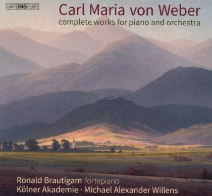 Carl Maria von Weber (1786-1826), Michael Alexander Willens, Ronald Brautigam & Kölner Akademie - Works For Piano & Orchestra (Hybrid SACD)