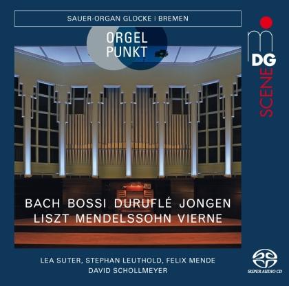 Johann Sebastian Bach (1685-1750), Marco Enrico Bossi (1861-1925), Maurice Duruflé (1902-1986), Joseph Jongen (1873-1953), Franz Liszt (1811-1886), … - Orgelpunkt (Hybrid SACD)