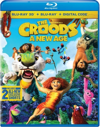 The Croods 2 - New Age (2020) (Blu-ray 3D + Blu-ray)