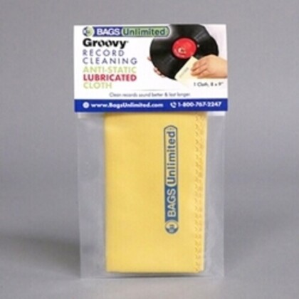Bu Asa-2 Grvy Record Cleaning Cloth Microfiber Ylw