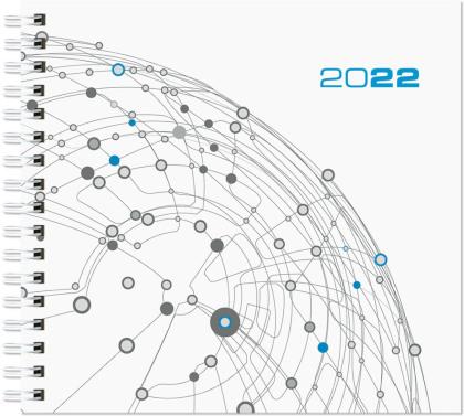 Wochenbuch Assessor 2022 - Bürokalender 15,8x14,7 cm - 1 Woche auf 2 Seiten - mit Ringbindung - Buchkalender - Notizbuch - 790-0098