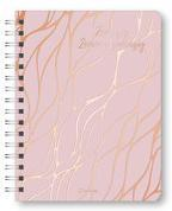 Glamour Planner Marble Rosé 2022 - Diary - Buchkalender - Taschenkalender - 16,5x21,6