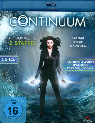 Continuum - Staffel 2 (2 Blu-rays)