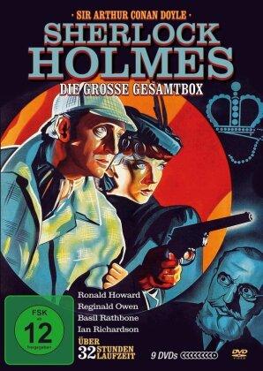 Sherlock Holmes - Die grosse Gesamtbox (9 DVDs)