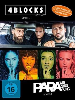 4 Blocks & Para - Staffel 1 (Bundle, 4 DVDs)