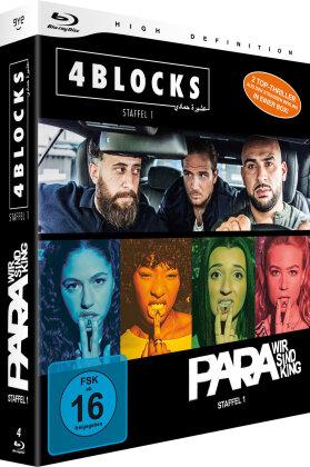 4 Blocks & Para - Staffel 1 (Bundle, 4 Blu-rays)