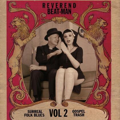 Reverend Beat-Man - Surreal Folk Blues Gospel Trash 2 (2021 Reissue, Repress, LP)