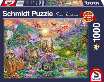 Verzaubertes Drachenland (Puzzle)