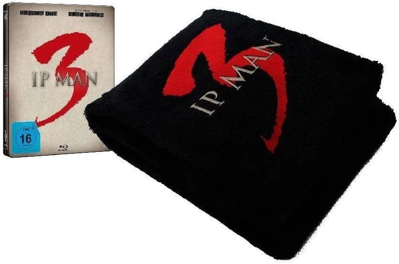 Ip Man 3 - & Badetuch (2015) (Bundle, Fan Edition, Limited Edition, Steelbook)