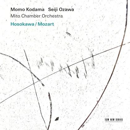 Momo Kodama, Seiji Ozawa, Mito Chamber Orchestra, Toshio Hosokawa (*1955) & Wolfgang Amadeus Mozart (1756-1791) - Hosokawa/Mozart