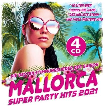 Mallorca Super Party Hits 2021 (4 CDs)