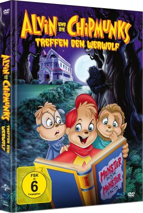 Alvin und die Chipmunks treffen den Werwolf (2000) (Limited Edition, Mediabook, Blu-ray + DVD)