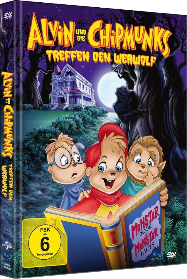 Alvin und die Chipmunks treffen den Werwolf (2000) (Limited Edition, Mediabook, Blu-ray + DVD)