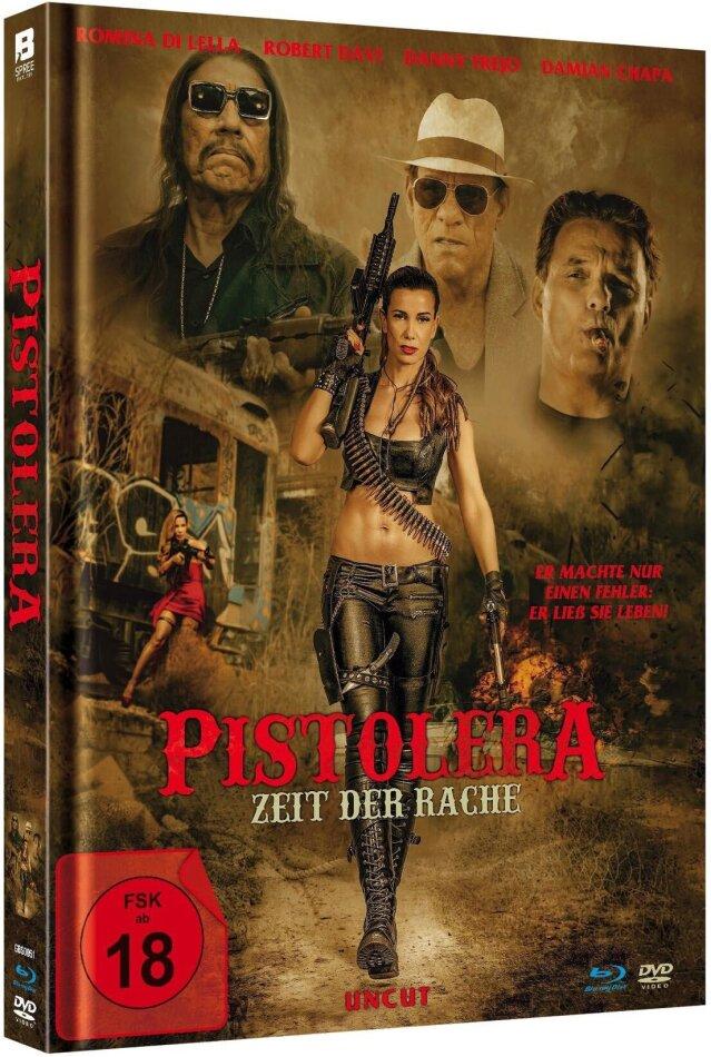 Pistolera - Zeit der Rache (2020) (Limited Edition, Mediabook, Uncut, Blu-ray + DVD)