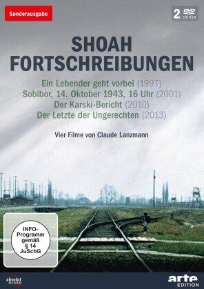 Shoah Fortschreibungen - Vier Filme von Claude Lanzmann (Sonderausgabe, Arte Edition, 2 DVDs)