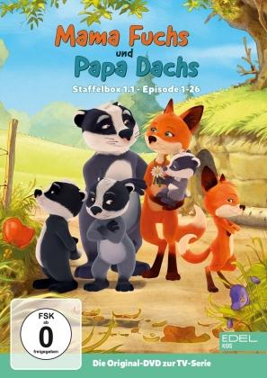 Mama Fuchs und Papa Dachs - Staffel 1.1 - Episoden 1-26 (2 DVDs)