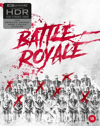 Battle Royale 1 & 2 (Limited Edition, 2 4K Ultra HDs + 2 Blu-rays + CD)