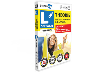 Theorie24 - USB inkl. Buch 2021/22 D/F