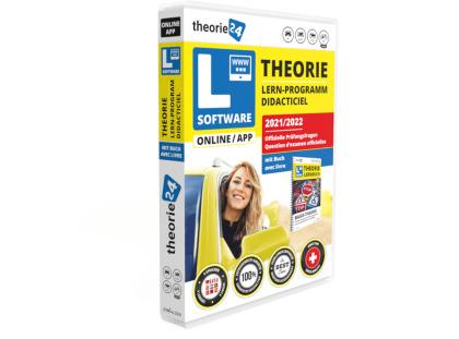 theorie24/CH-Fahrschule Online inkl. Buch 2021/22