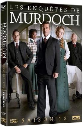 Les enquêtes de Murdoch - Saison 13 - Vol. 1 (3 DVDs)