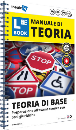 "theorie24/CH-Fahrschule "" Basic theory"" Theorie-Lernbuch"