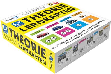 """theorie24/CH-Fahrschule """"L-Cards"""" Theorie-Lernkarten"""
