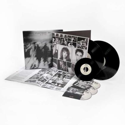 """Fleetwood Mac - Live (Super Deluxe Boxset, 2 LPs + 3 CDs + 7"""" Single)"""