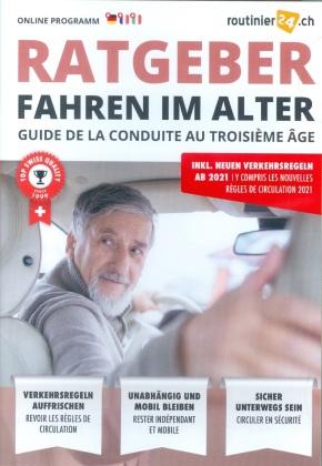 """routinier24.ch """"Ratgeber Fahren im Alter"""" Online Box - Code in a Box"""