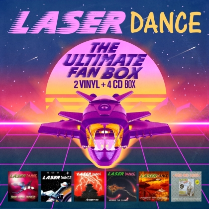 Laserdance - The Ultimate Fan Box (+ Maxi CD, 2 LPs + 3 CDs)