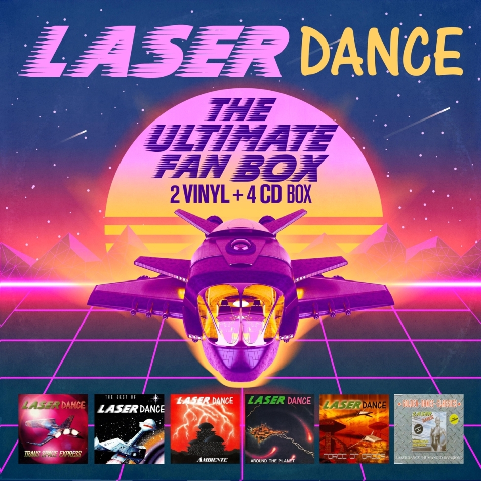 Laserdance - The Ultimate Fan Box (+ Maxi CD, 2 LPs + 3 CDs)