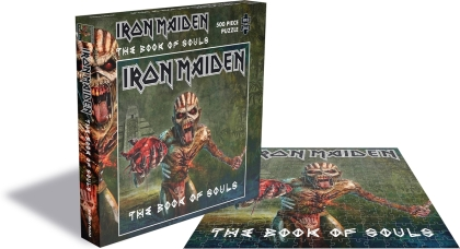 Iron Maiden - The Book Of Souls (500 Piece Jigsaw Puzzle)
