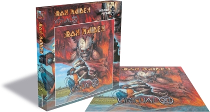 Iron Maiden - Virtual Xi (500 Piece Jigsaw Puzzle)