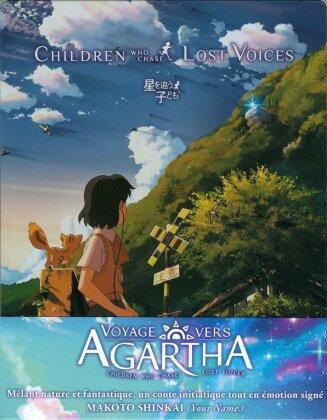 Voyage vers Agartha (2011) (Limited Edition, Steelbook, Blu-ray + DVD + CD)