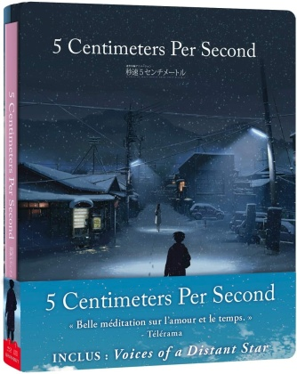 5 cm per second (2007) (Limited Edition, Steelbook, Blu-ray + CD)