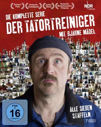 Der Tatortreiniger - Die komplette Serie (4 Blu-rays)