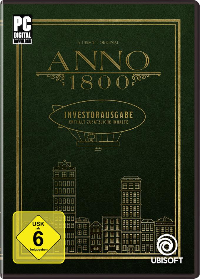 ANNO 1800 Investorausgabe - (Code in a Box)