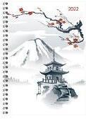 Ladytimer Ringbuch Japan 2022 - Taschen-Kalender A5 (15x21 cm) - Schüler-Kalender - Weekly - Ringbindung - 128 Seiten - Alpha Edition