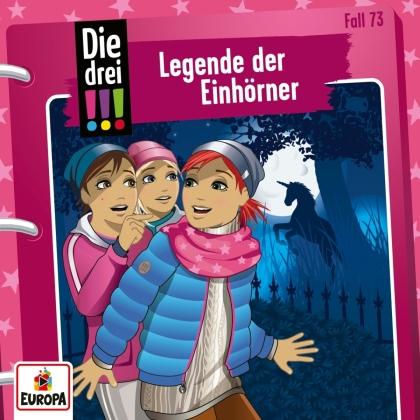 Die Drei !!! - 073/Legende der Einhörner