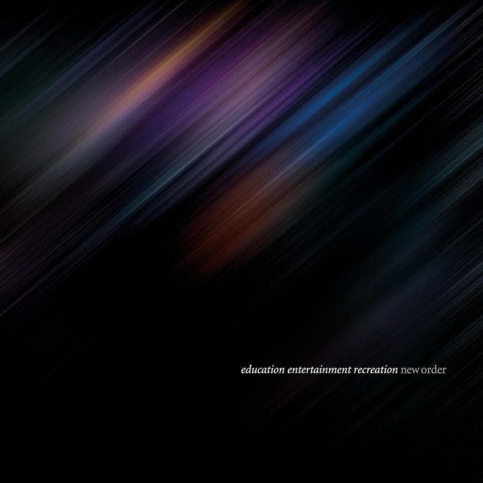 New Order - education entertainment recreation (Live) (2 CDs + Blu-ray)