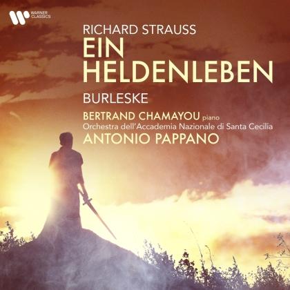 Antonio Pappano, Bertrand Chamayou & Orchestra dell'Accademia Nazionale di Santa Cecilia - Ein Heldenleben/Burleske